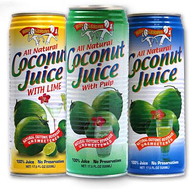 CoconutJuiceCans